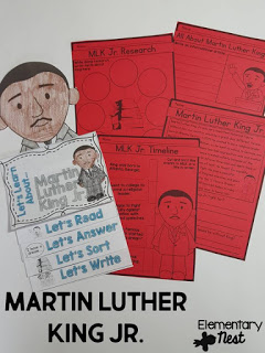 Martin Luther King Jr. learning activity