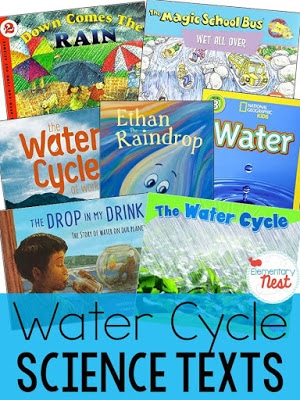 Water cycle science texts