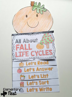 All about life cycles packet