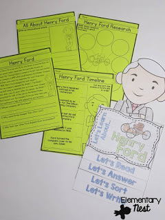 Teaching Biographies in a primary classroom - lesson and activities ideas for biographies.