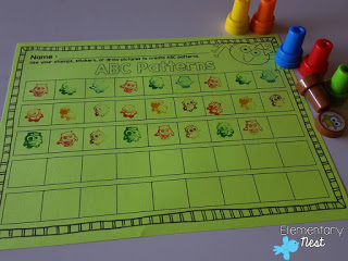 Fall stampers idea- Halloween Math Ideas for Kids