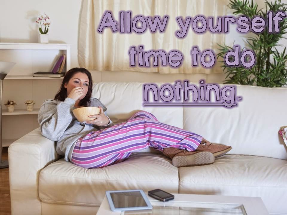 Allow time to relax