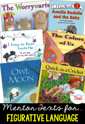 Mentor text for figurative language