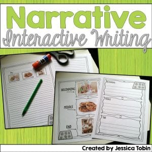 Narrative interactive writing
