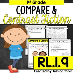 Compare and contrast fiction for 4th grade