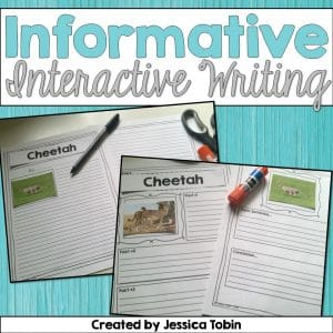Informative interactive writing