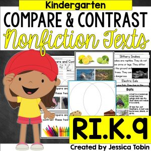 Kindergarten compare and contrast nonfiction texts