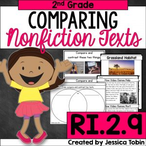 2nd grade comparing nonfictions texts