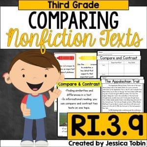 Third grade comparing nonfiction texts