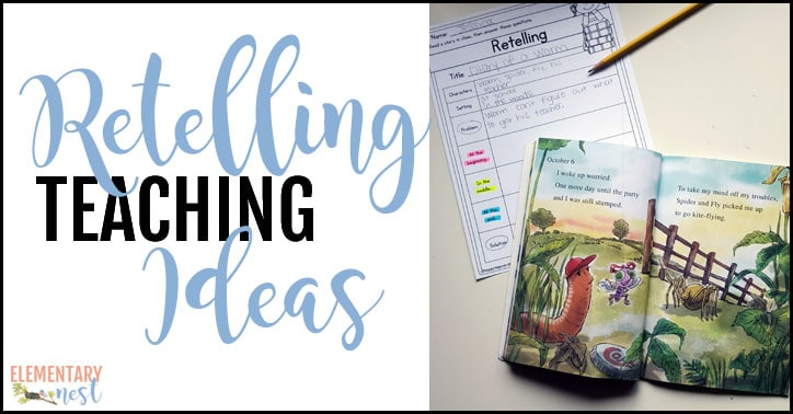 Retelling teaching ideas