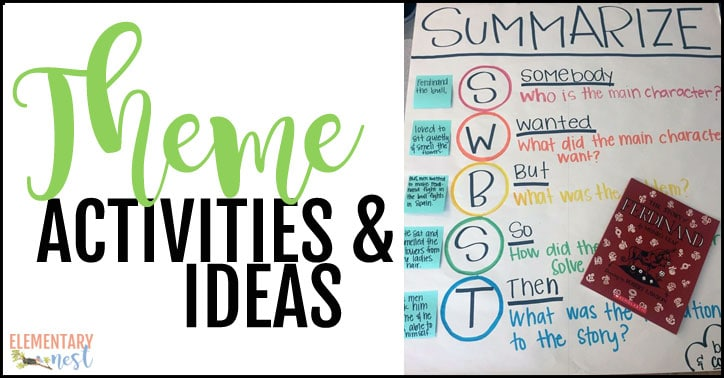 Theme activities and ideas