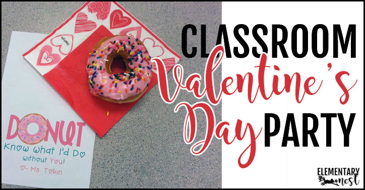 Classroom Valentine's Day party