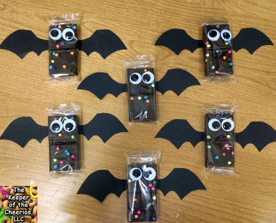 Halloween snacks for the classroom