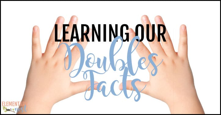 Learning our doubles facts