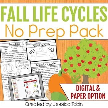 Fall life cycles no prep pack