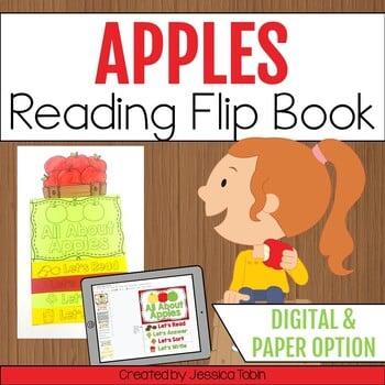 Apples Reading flip book