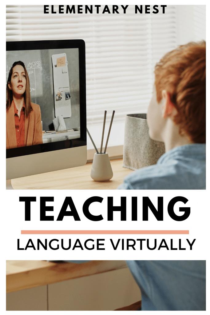 Teaching tips for virtual language activities blog post