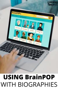 BrainPOP videos to introduce biography