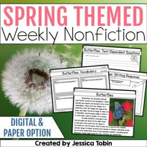 Spring Weekly Nonfiction Reading Passages