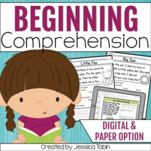 Reading Comprehension Passages for Emergent Readers