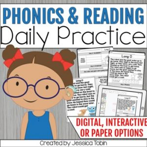 Daily Reading and Phonics Skill Practice