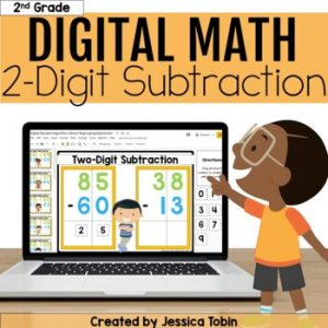 2-Digit Subtraction Digital - 2.NBT.5