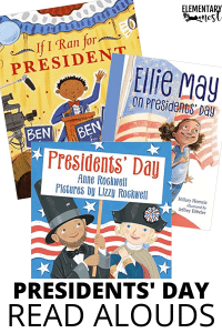 President's Day Read Alouds, Picture Books