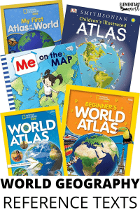 World Geography Mentor Texts and Picture Books for Elementary Students
