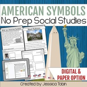 American Symbols Worksheets and Activities