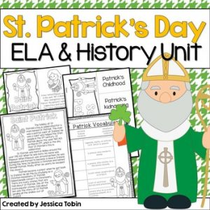 St. Patrick's Day Social Studies Unit