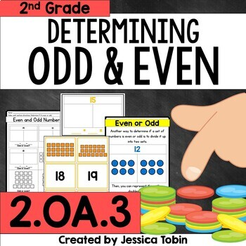 2.OA.3 Even and Odd Numbers