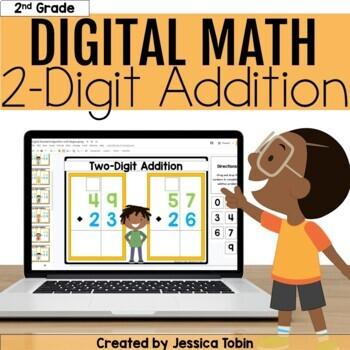 2 Digit Addition Digital - 2.NBT.5