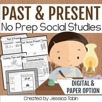 Past and Present Social Studies Activities