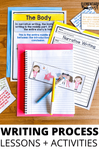 Narrative Pre-Writing Organizers to help students plan their writing