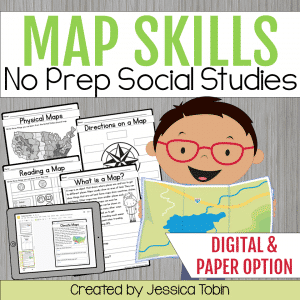 Map Skills Unit- with Digital