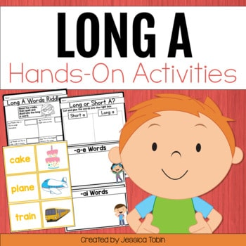 Long A Worksheets and Partner Games