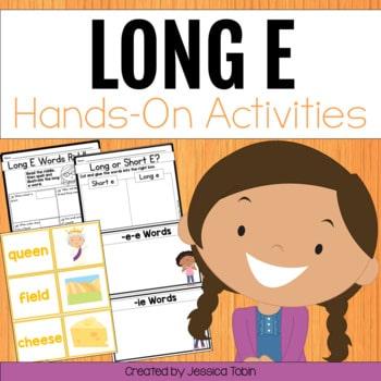 Long E Worksheets and Partner Games
