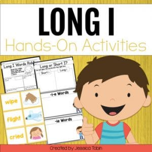 Long I Worksheets and Partner Games