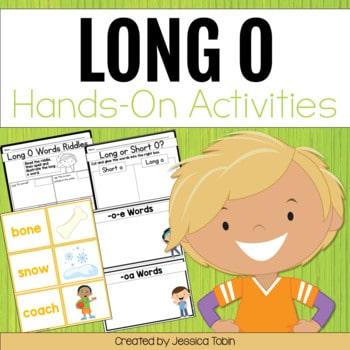 Long O Worksheets and Partner Games