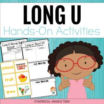 Long U Worksheets and Partner Games