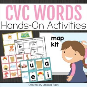 CVC Words Activities Unit