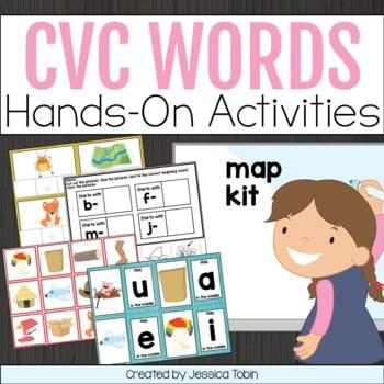 CVC Words Activities Unit