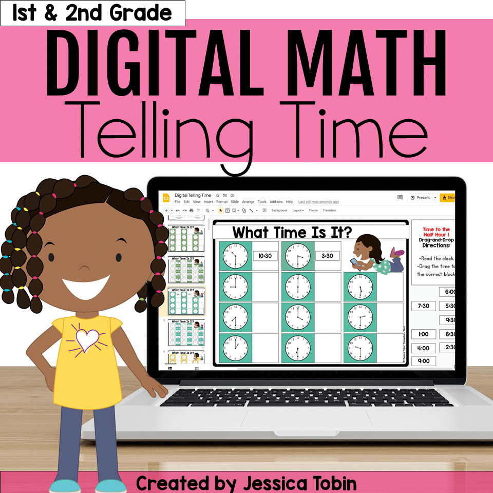 Digital Telling Time Activity