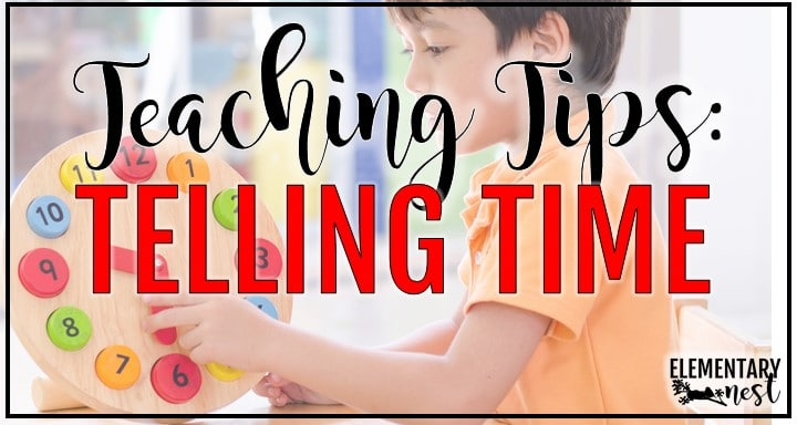 Blog Post About Digital Activities for Telling TIme