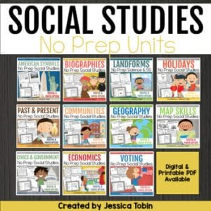 Social Studies Units Bundle