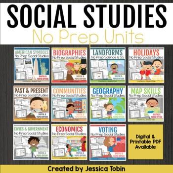 Social Studies Units Bundle