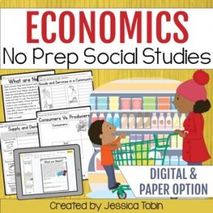 Economics Activities Social Studies