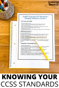This blog post describes how you can get to know your Common Core ELA Standards. With a focus on actionable steps to take, read about ways to ensure your ELA block contains all of the elements to effectively teach each CCSS ELA Standard. You will find information about terminology, rigorous texts, writing, language, fluency, and more!