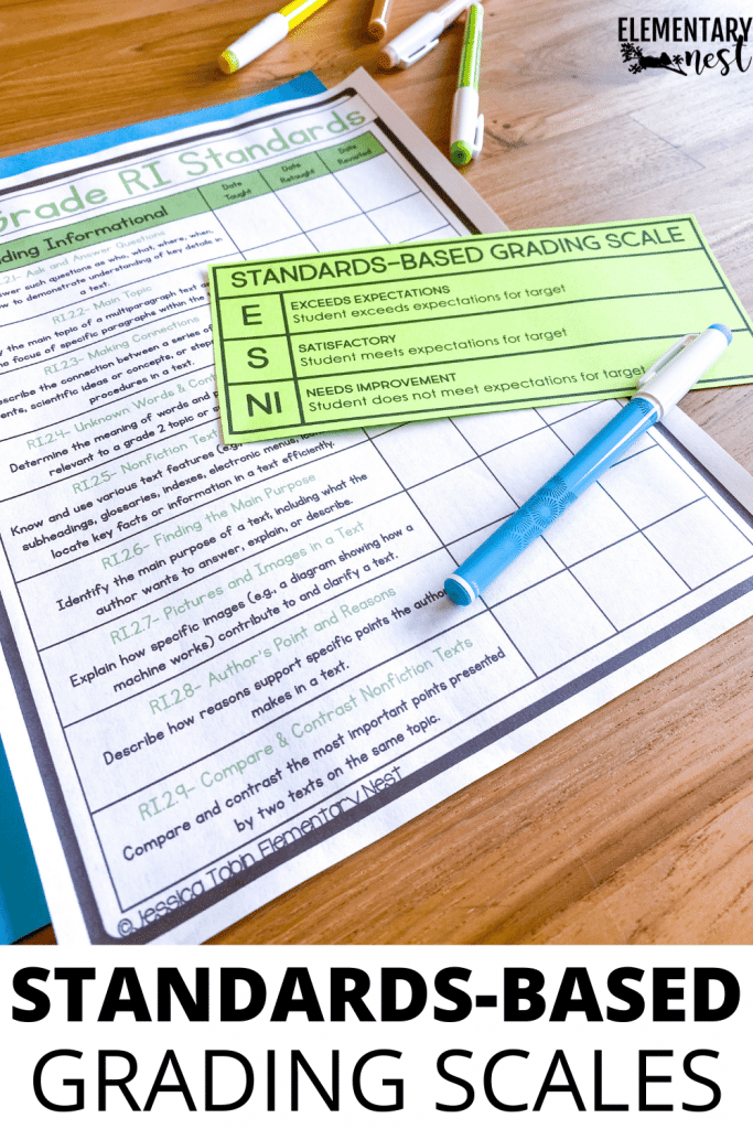 Learn how to switch to standards-based grading and report cards. This will take all of their grade level standards and give them a scale of understanding. This will help ensure students have mastered all grade level standards.