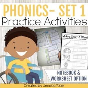 Phonics Activities- Interactive Notebook 1